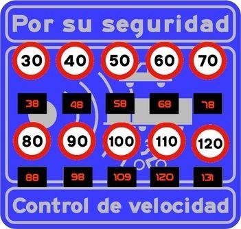 A que velocidad saltan los radares de tráfico