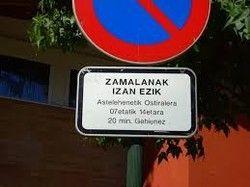 Otra de multas: eu non falo galego, euskera, ni catalá.