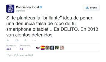 """La picaresca española II: """"Agente, me han robado el móvil"""""""